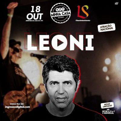 Leoni em Maceió