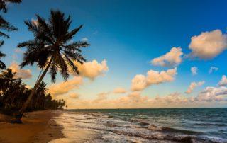 Praias sossegadas em Alagoas